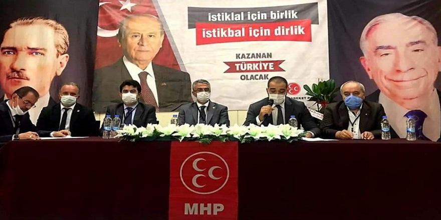 MHP Erzurum İl Başkanı yeniden Naim Karataş seçildi