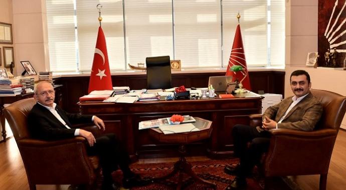 Kılıçdaroğlu Eren Erdem'i Ağırladı