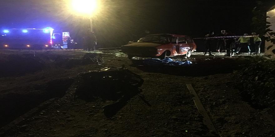 Manisa'da feci trafik kazası: 1 ölü
