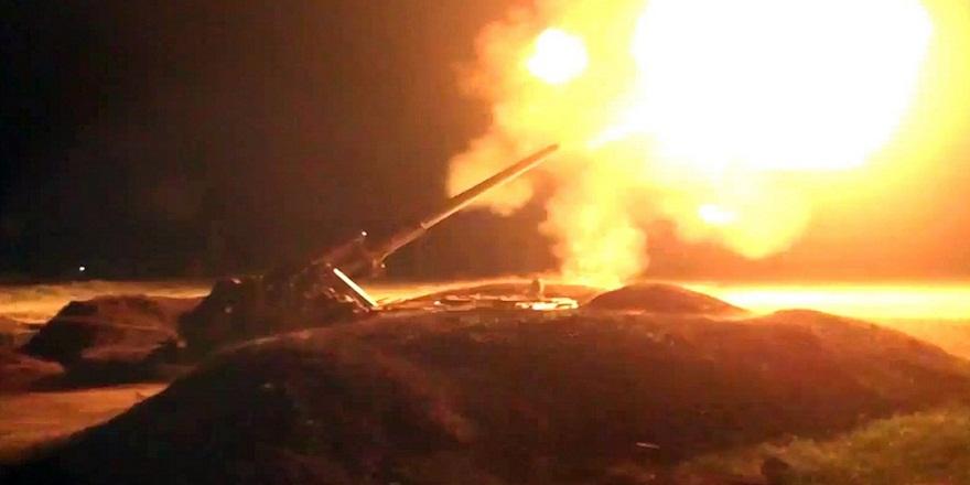 Azerbaycan askeri birlikleri  Ermeni ordusuna ait 1 tankı ve 10 askeri daha vurdu!