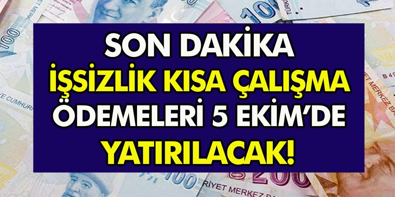 Bakan Zehra Zümrüt Selçuk Açıkladı! işsizlik ve kısa çalışma ödemeleri 5 Ekim'de yatırılacak