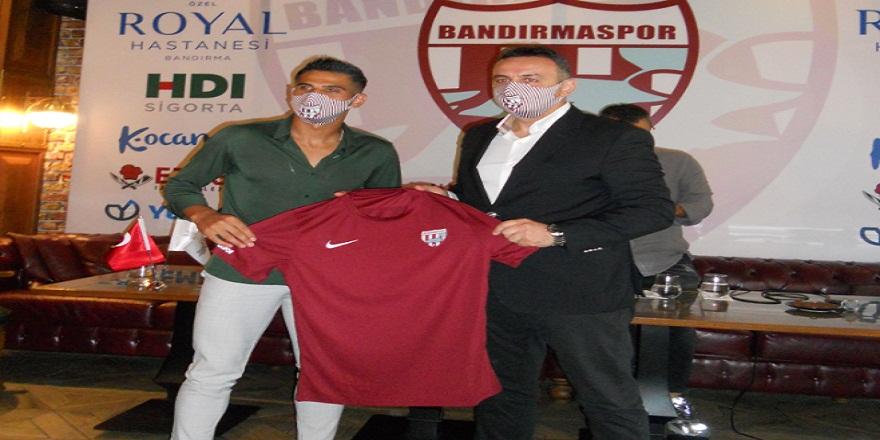 RH Bandırmaspor Abdurrahim Dursun'u 1 yıllığına renklerine bağladı