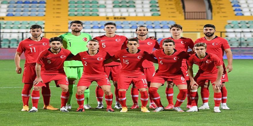 Türkiye Ümit Milli Takımı'nın İngiltere maçı aday kadrosu açıklandı