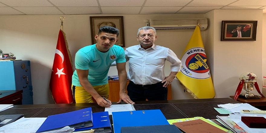 Menemenspor,sezon sonuna kadar  Fatih Ekinci'yi renklerine bağladı