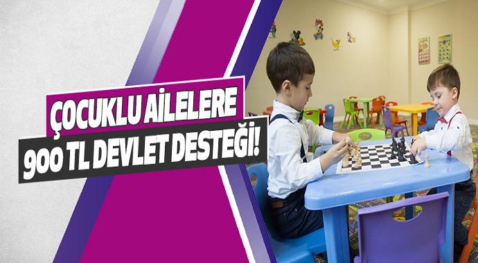 Müjde Çocuklu Ailelere 900 TL Devlet Desteği