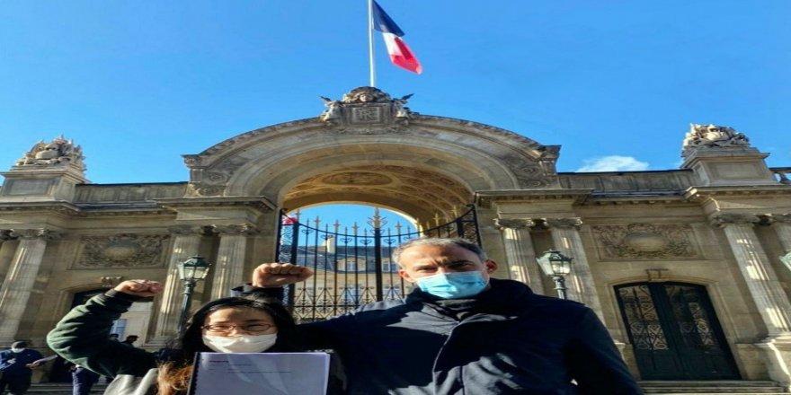 Uygur Türkleri için Fransa'da farkındalık kampanyası başlatıldı!