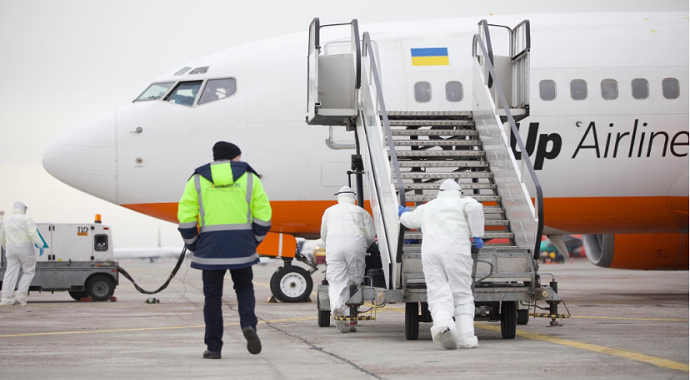 Ukrayna'dan Çin'deki vatandaşları için tahliye operasyonu