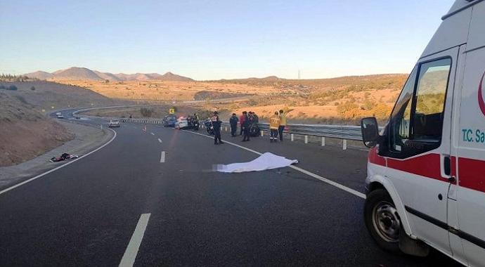Konya'nın Seydişehir İlçesinde Motosiklet Kazası!