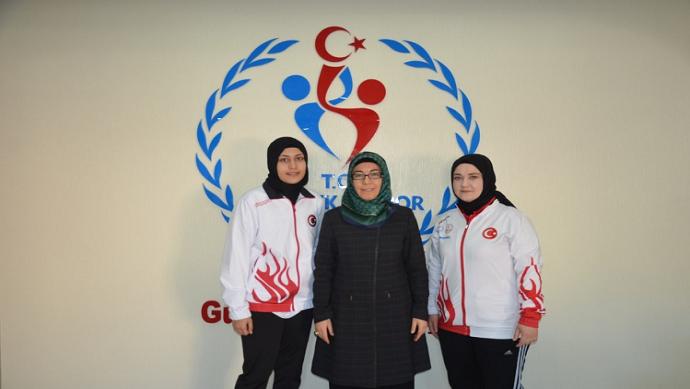 Leblebicioğlu, Türkiye şampiyonunu ağırladı