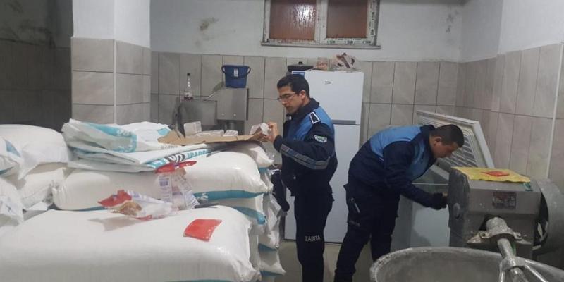 Zonguldak'ta zabıta ekiplerinden fırınlara gece baskını