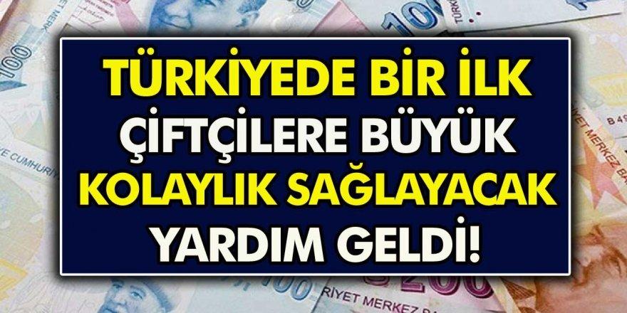 Türkiye'de Bir İlk: Çiftçilere Büyük Kolaylık Sağlayacak Yardım Geldi!