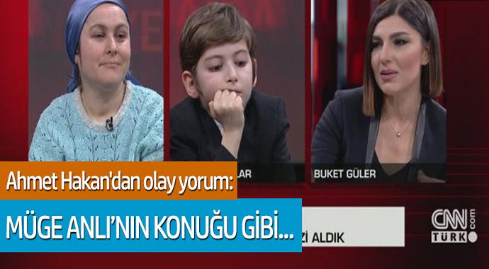 Ahmet Hakan'dan olay yorum: Müge Anlı'nın konuğu gibi...