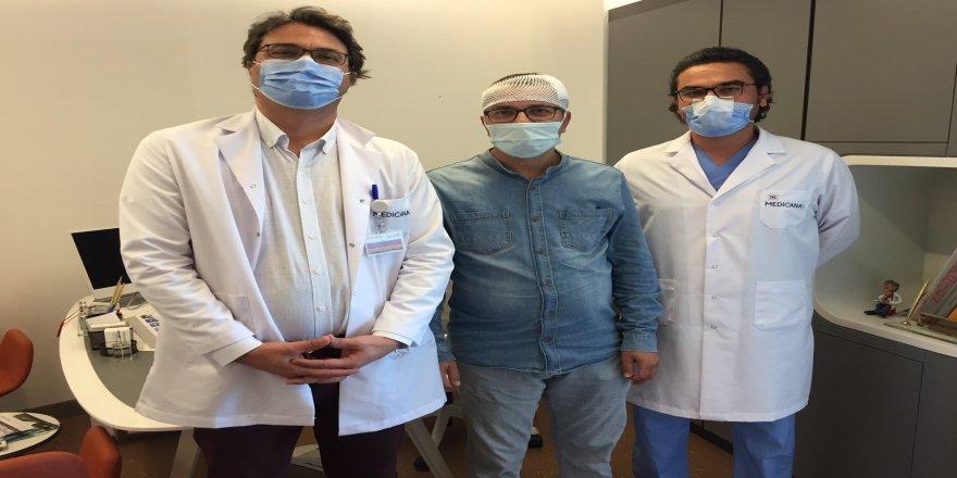 İzmir 41 yaşındaki hasta ameliyattan konuşarak çıktı