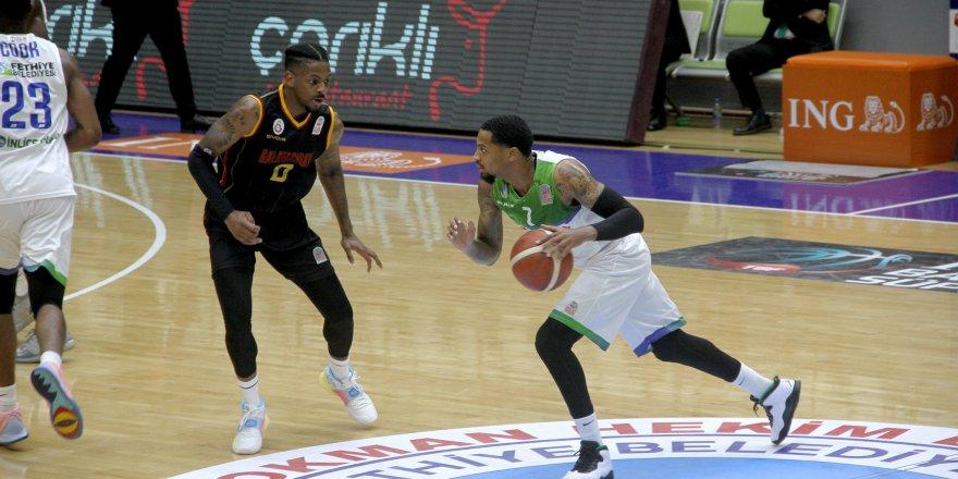 4. haftasında: ING Basketbol Süper Ligi: L.H. Fethiye Belediyespor: 91 - Galatasaray: 82