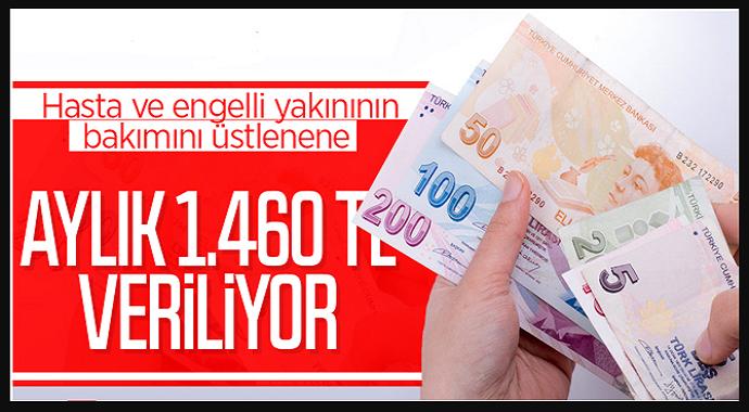 Devletten Her Ay Bin 460 Lira Hemen Başvurun