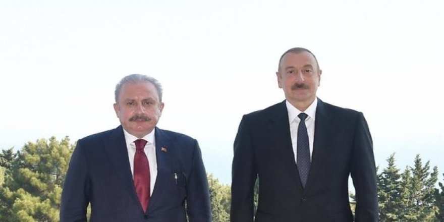 TBMM Başkanı Mustafa Şentop: ''Azerbaycan bizim dostumuz ve kardeşimizdir''