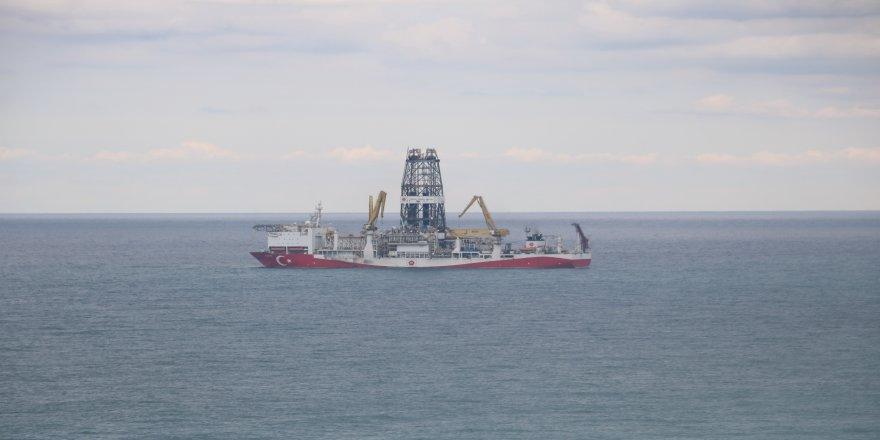 Fatih Sondaj Gemisi Tuna-1 kuyusunda sondaj faaliyetlerine son verip Zonguldak'a geldi