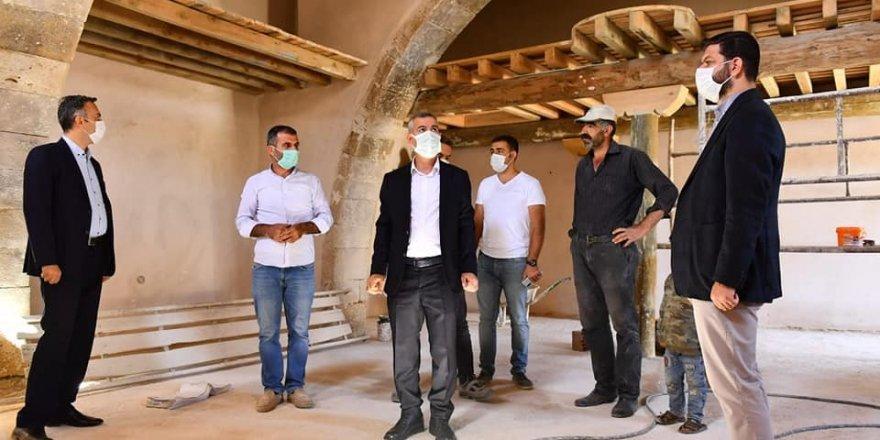 Malatya'da, 350 yıllık tarihi cami restore ediliyor