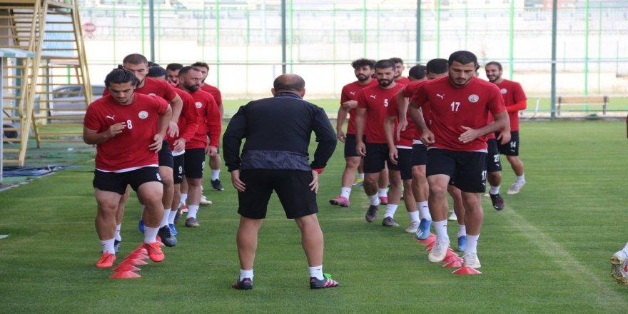 Karabük maçı hazırlıkları, Sivas Belediyespor'da, sürüyor
