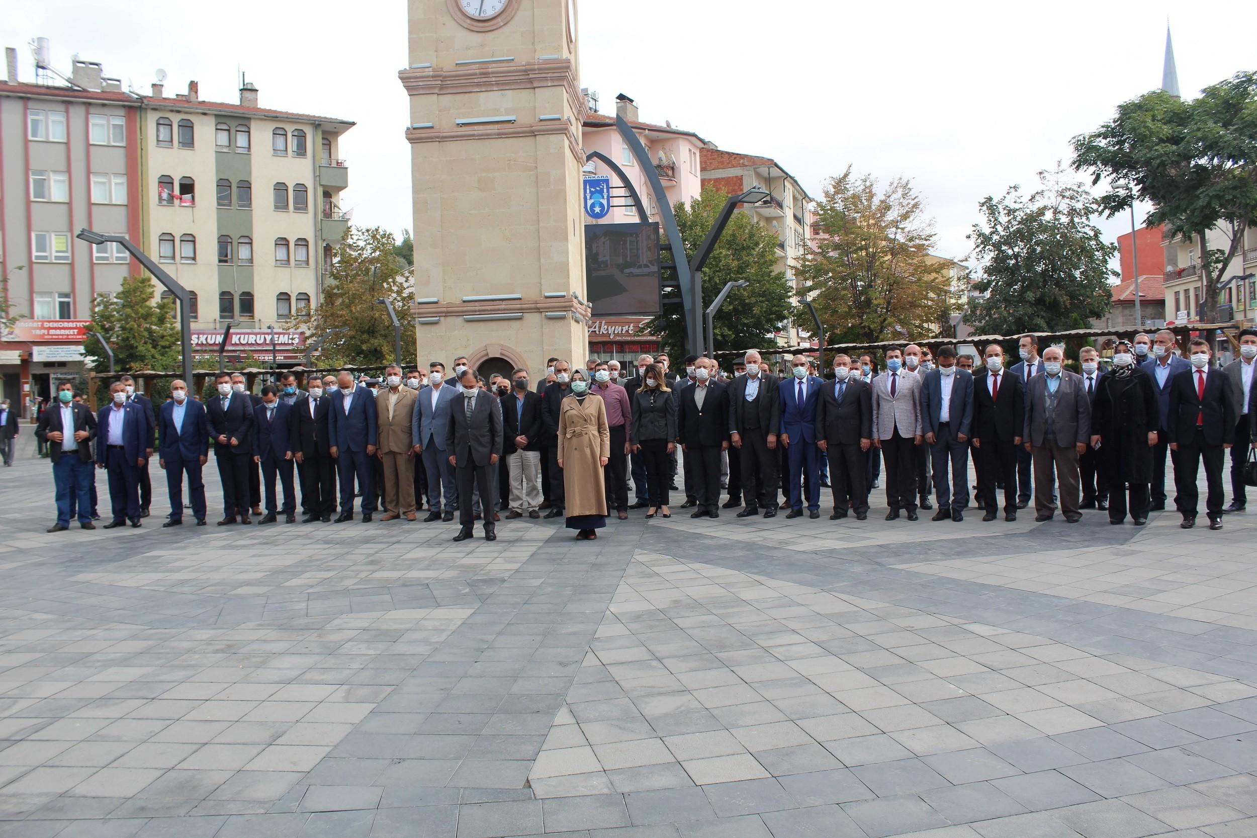 Muhtarlar Günü nedeniyle, Akyurt'ta bir tören düzenlendi
