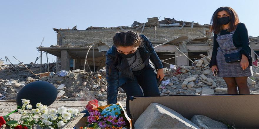Ermenistan saldırıları sonrası Gence halkı yaralarını sarmaya çalışıyor!