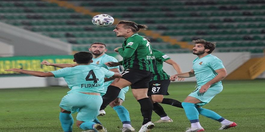 (Özet) Türkiye Futbol Federasyonu 1. Lig: Akhisarpor: 0 - Menemenspor: 0