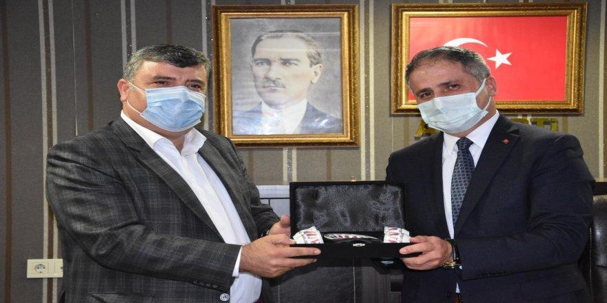 """STK başkanlarından Saffet Bozkurt'a """"hayırlı olsun"""" ziyareti"""