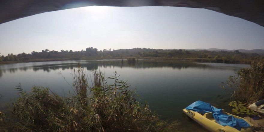 Fatsa ilçesindeki  Gaga Gölü'nde,  kilise kalıntılarına rastlandı