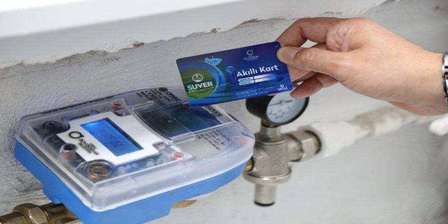 GSM ile uzaktan dolum yapılabilen su sayacı üretimi ve montajına başladı