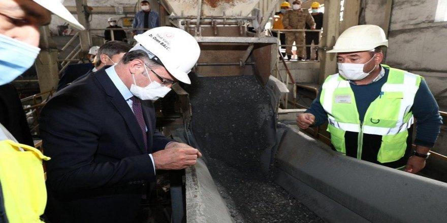 Tokat Valisi Dr. Ozan Balcı, Cumhuriyet tarihinin ilk antimuan madenini gezdi