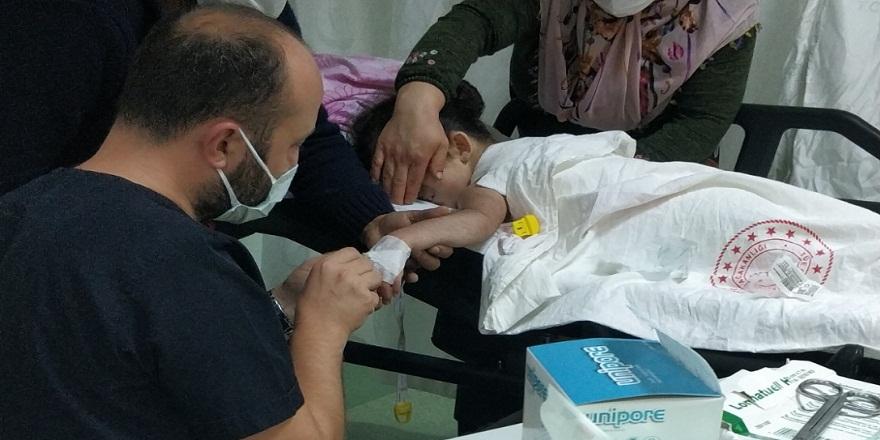 Samsun'da kaynamış su dolu kazana düşen çocuk hastaneye kaldırıldı