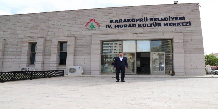 Karaköprü Belediyesi, Şanlıurfa'da 4. Murad Kültür Merkezi hizmete açılıyor