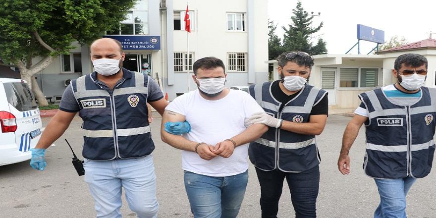 Mersin'de, 50 farklı dosyadan ceza alan, suç makinesi, firari dolandırıcı yakalandı