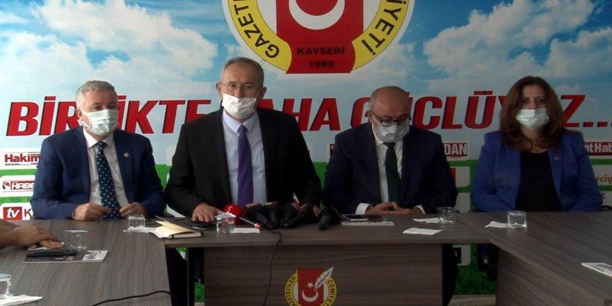 """Kayseri Gazeteciler Cemiyeti (KGC) Başkanı Veli Altınkaya; """"Her 3 gazeteciden 1'i işsiz"""""""