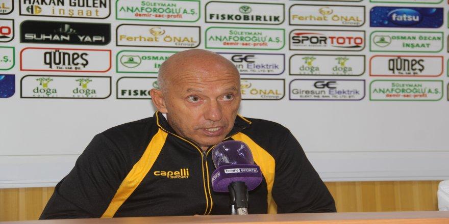 Adanaspor - Giresunspor, maçı sonrası değerlendirme
