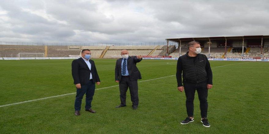 Bandırma ilçesinde bulunan 17 Eylül Stadı, 3 milyon TL'ye yenileniyor