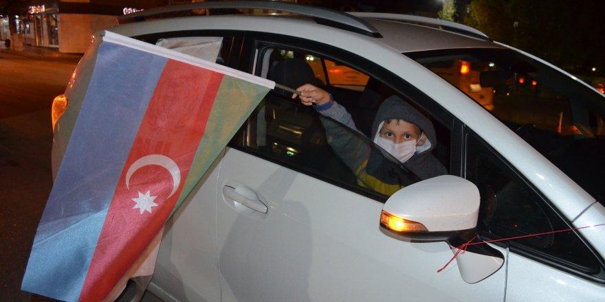 Amasya Merzifon'dan Azerbaycan'a konvoylu destek