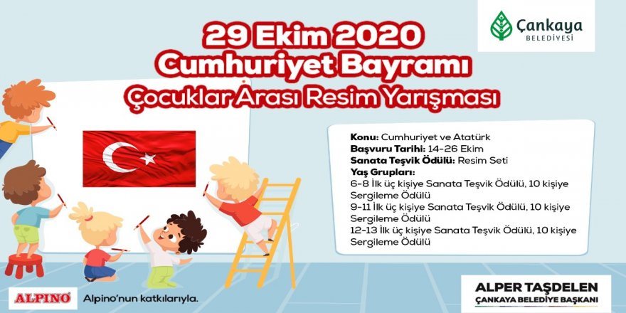 """""""Atatürk ve Cumhuriyet"""" temalı resim yarışmasına katılma süresi uzatıldı"""