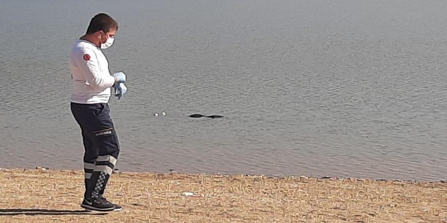 Çomar Barajı'nda kıyıya vuran ceset polisi alarma geçirdi