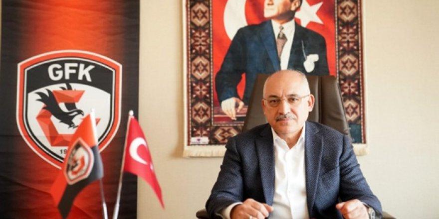 Gaziantep Futbol Kulübünde,  yönetim değişti