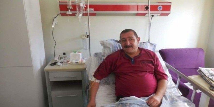 Başkan Rahmi Galip Vidinlioğlu tedavi altına alındı