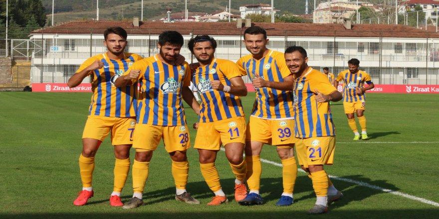 2. Turu'nda Ziraat Türkiye Kupası: Belediye Derincespor: 3 - Çankaya Futbol Kulübü: 0