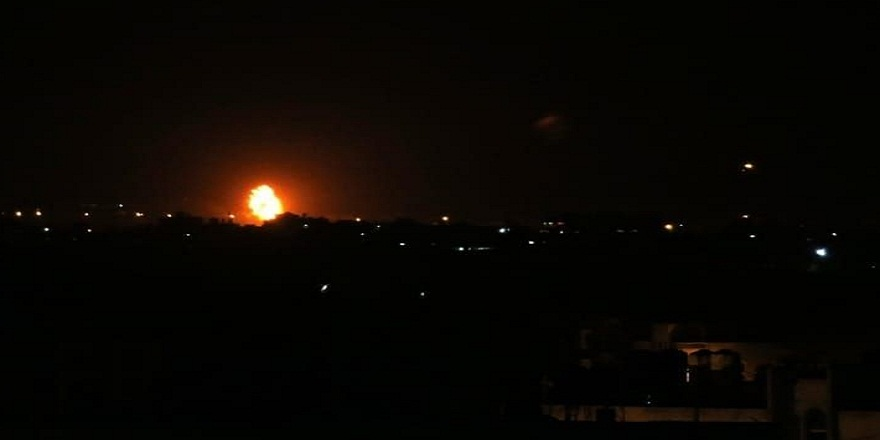 İsrail Ordusu Gazze'yi vurdu!