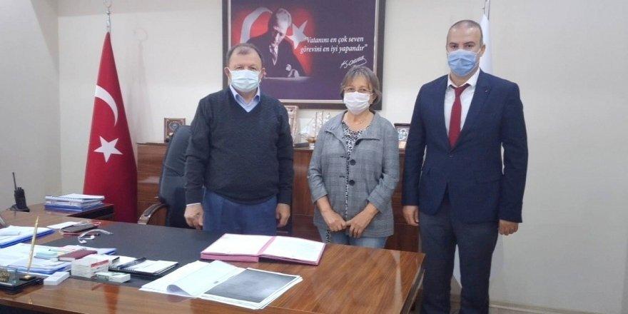 Muğla ortaca'da Hayırsever Sevim Bayezit'ten Ortaca Devlet Hastanesine bağış
