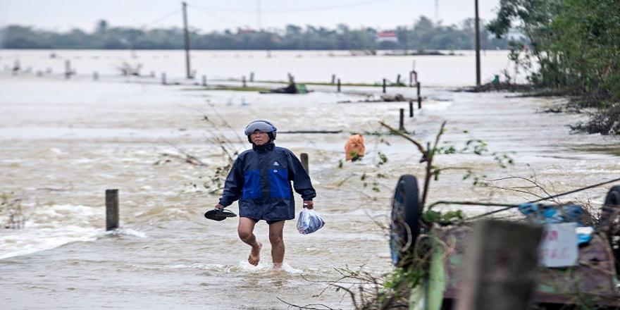 Vietnam'da ,meydana gelen sel felaketinde ölü sayısı 117'ye yükseldi