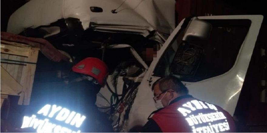 Aydın Germencik'te, trafik kazası: 1 ölü