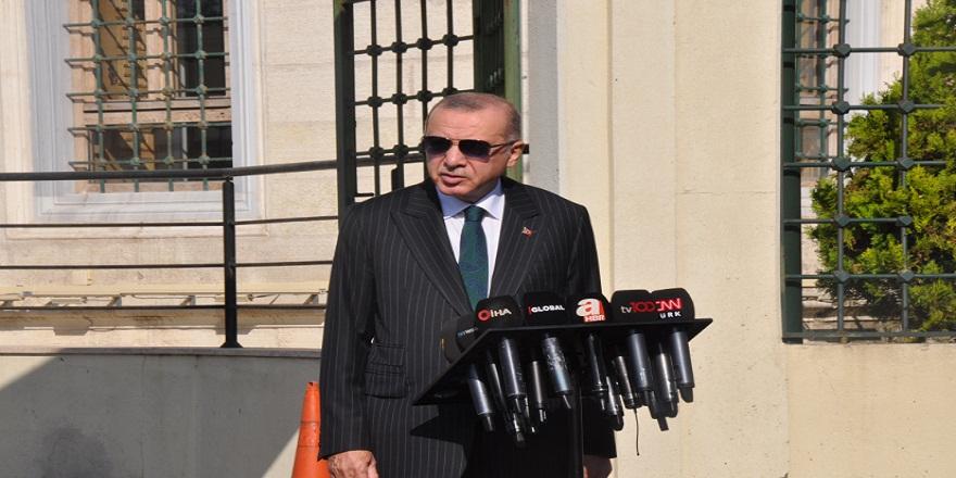 """Başkan Erdoğan: """"S-400 testi yapıldı doğrudur, halen yapılıyor. Amerika'nın bu yaklaşımı kesinlikle bizi bağlamaz"""""""