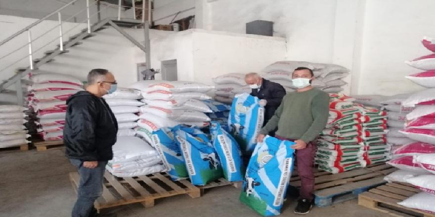 Tarım ve Orman Bakanlığı tarafından, çiftçilere yem bitkisi tohumu dağıldı