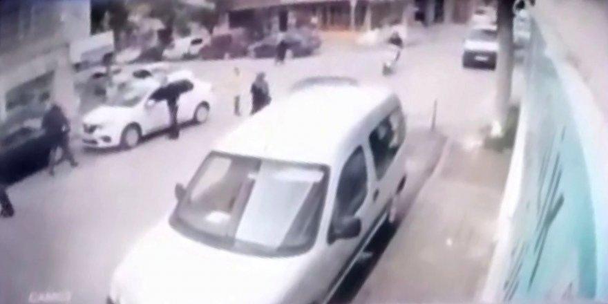 Bursa'da yaşlı bir kadın ölümden kıl payı kurtuldu