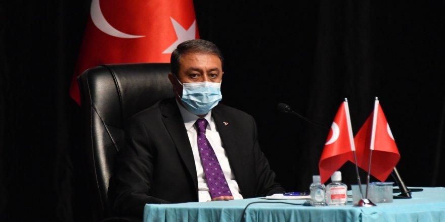 Balıkesir'de Vali vatandaşları salgına karşı mücadeleye çağırdı